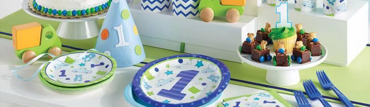 Deko Party Erster Geburtstag Happy Kindergeburtstag