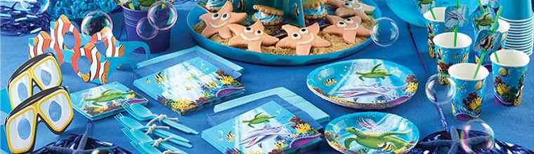 Unterwasser Deko.Ocean Party Deko Unterwasser Kindergeburtstag Happy