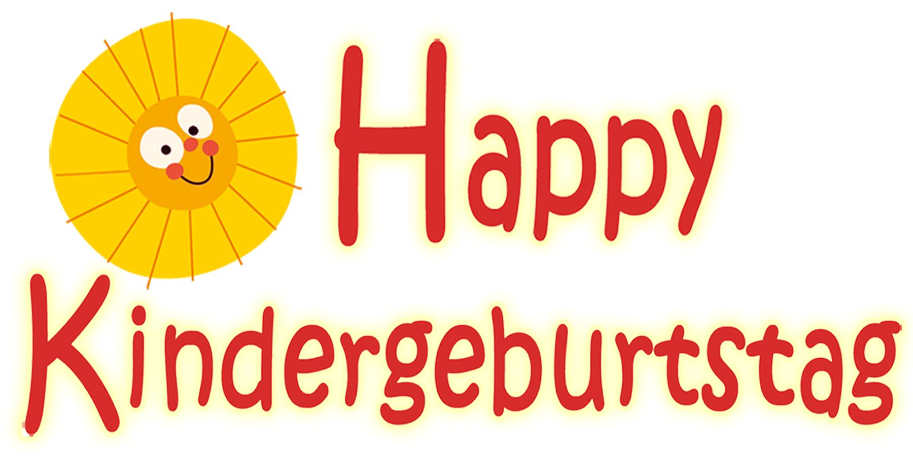 Happy Kindergeburtstag-Logo