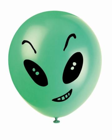 Luftballons Alien Party, 8 St.