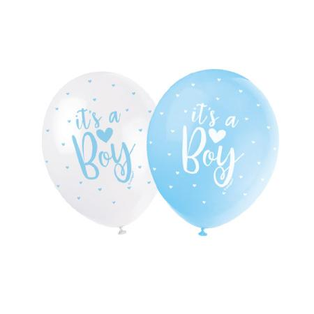 Luftballons It's a Boy - Deko Baby Party Babyshower
