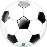 Bubble Ballon Fussball  - Heliumballons