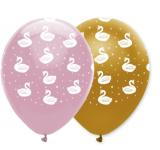 Luftballons Schwan Party Stylish Swan Party - Deko Kindergeburtstag